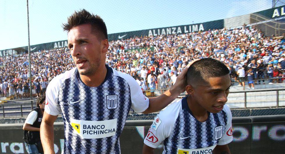 Affonso felicitó a Quevedo tras triunfo de Alianza. (Foto: GEC)
