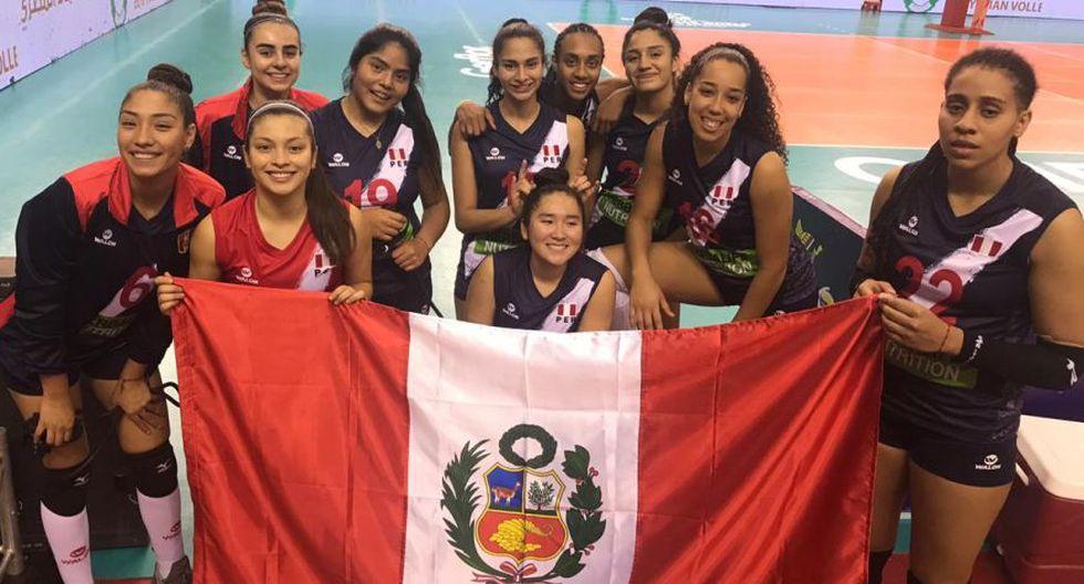 Perú venció a la República Democrática del Congo en su segundo partido en el Mundial de Vóley Sub 18 de Egipto. (Foto: Difusión)