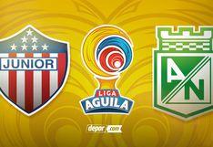 ¡Desde Barranquilla! Atlético Nacional vs. Junior EN VIVO y EN DIRECTO juegan por fecha 4 del Grupo A de Liga Águila