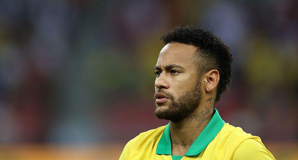 Neymar regresó a la Selección de Brasil luego de no jugar la Copa América por lesión. (Getty)