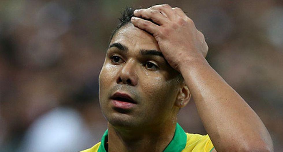 Fernandinho se recuperó y arrancará frente a Paraguay.(Getty)