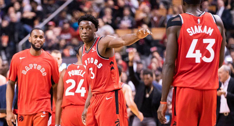 OG Anunoby (3) fue determinante en la victoria de los Raptors. (Foto: Getty Images)