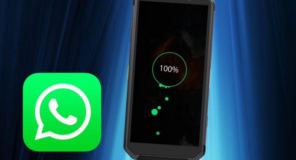 ¿Se gasta demasiado rápido la batería de tu celular? Conoce si la versión de WhatsApp genera este problema. (Foto: WhatsApp)