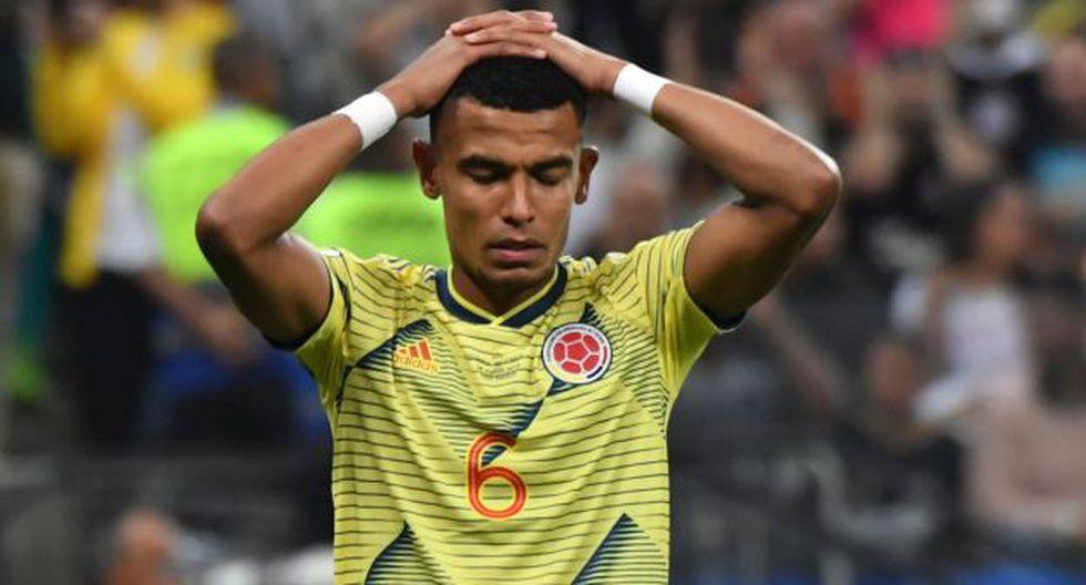 William Tesillo fue el único que falló en Colombia ante Chile. (Foto: AFP)