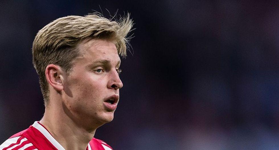 Frenkie De Jong llega al Barcelona por 75 millones de euros. (Getty)
