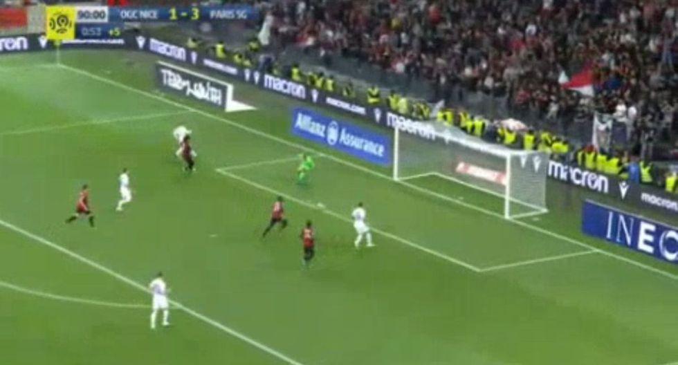 Kylian Mbappé hace la diferencia: gran pase del francés y Mauro Icardi anota el 4-1 del PSG vs. Niza