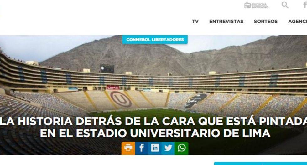 """""""La historia detrás de la cara pintada en el Monumental"""": 'Lolo' Fernández y la reacción en Argentina - Diario Depor"""