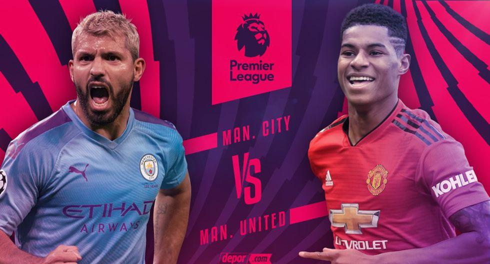¡Se paraliza la Premier League! Manchester City vs. Manchester United EN VIVO y EN DIRECTO chocan por fecha 16 en Etihad Stadium   vía ESPN 2