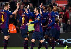 Barcelona venció 3-0 a Levante con doblete de Dembélé por los octavos de final de Copa del Rey