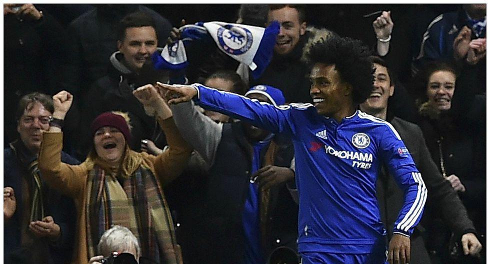 Brasileño Willian renueva contrato con el Chelsea. (Getty)