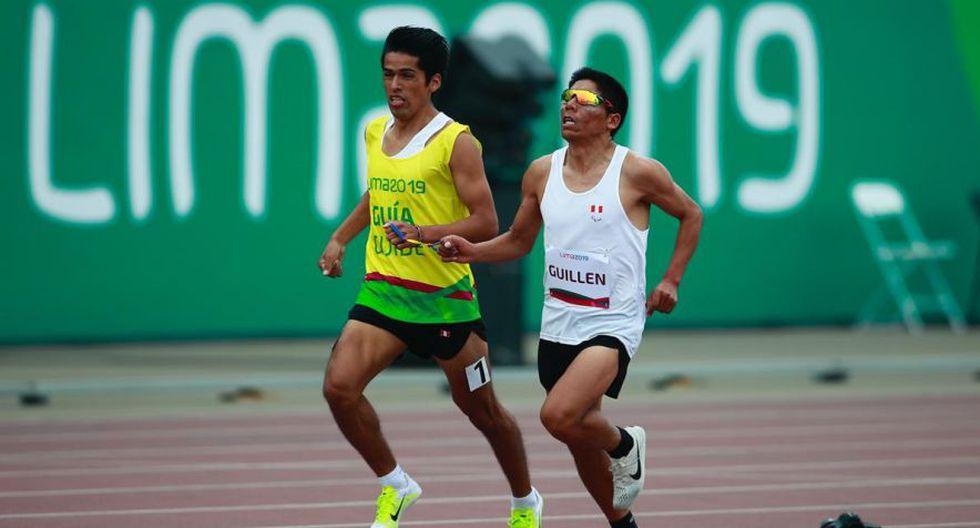 Rosbil Guillen ganó la medalla de oro en 5 mil metros, pero quedó descalificado por falta técnica. (Foto: Daniel Apuy)