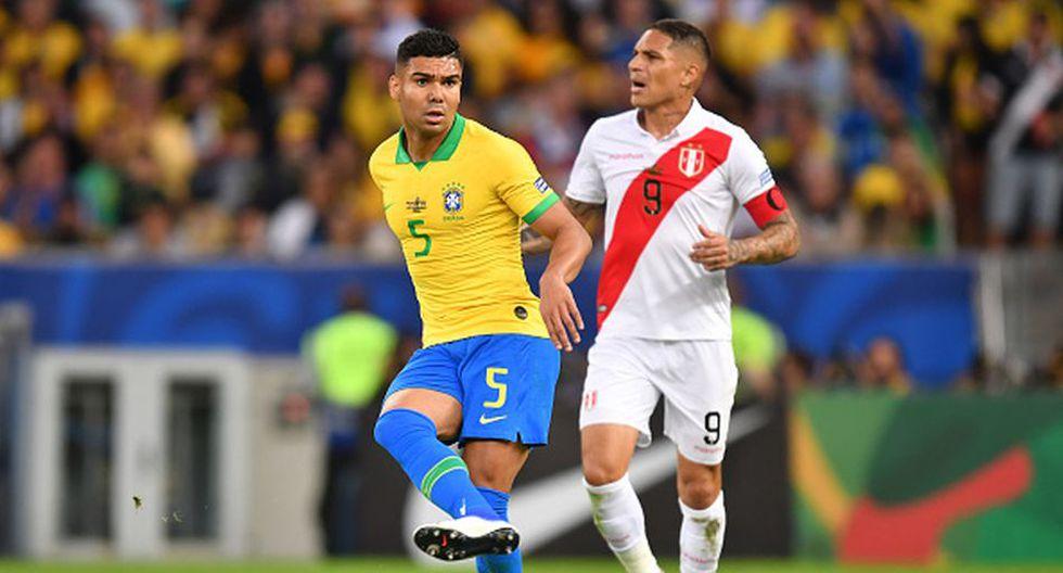 Casemiro levantó su primer trofeo con la Selección Brasil en Copa América 2019. (Getty)