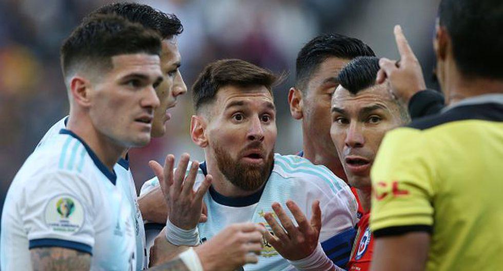 Lionel Messi le anotó a Paraguay en la Copa América 2019. (Foto: Getty Images)