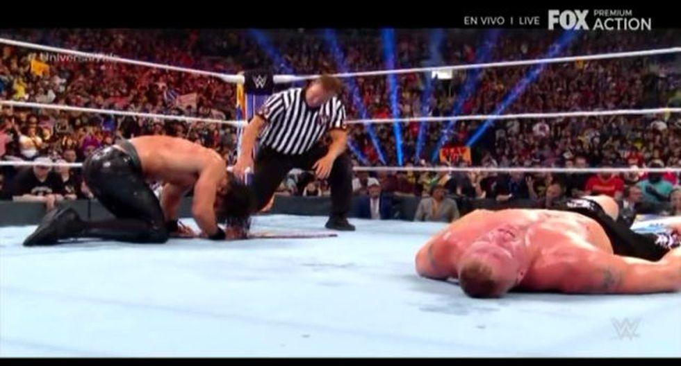 Seth Rollin celebró en SummerSlam 2019. (WWE)