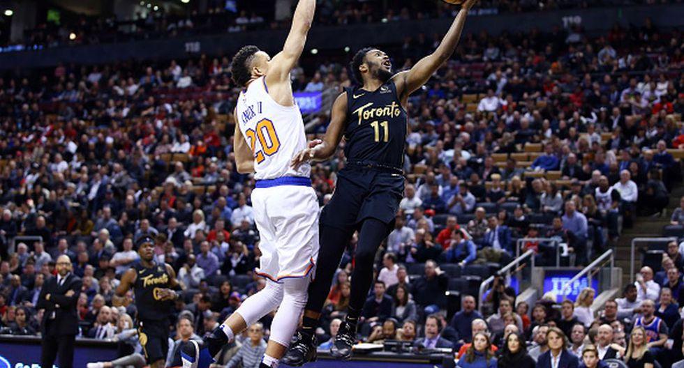 Toronto Raptors vencieron a los New York Knicks por 126-98 en una nueva jornada de la NBA desde el Scotiabank Arena de Canadá. (Getty Images)