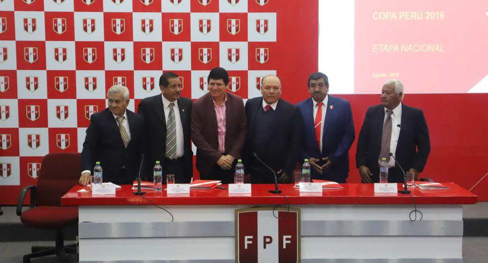 La Etapa Nacional de la Copa Perú 2019 fue presentada en la Videna. (Foto: FPF)