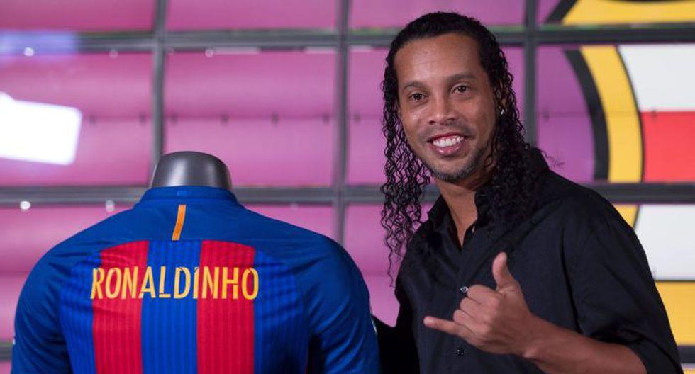 Ronaldinho regresa al Barcelona como embajador culé. (Foto: Agencias)