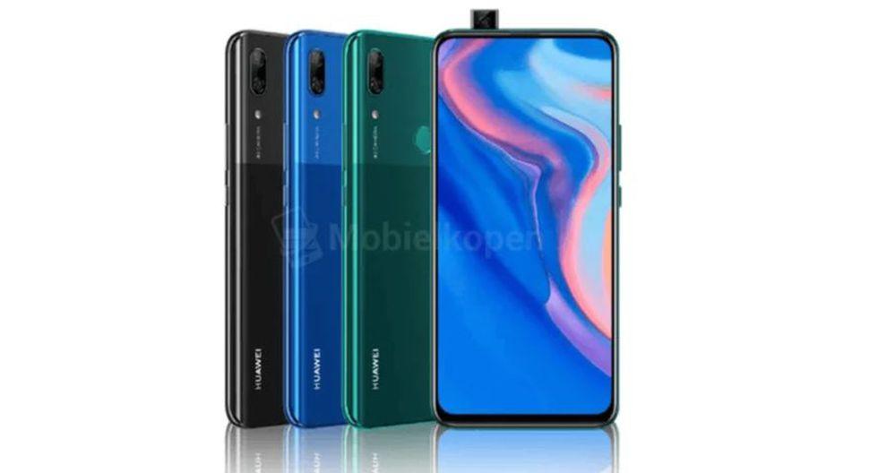 Cámara pop-up del nuevo móvil de Huawei
