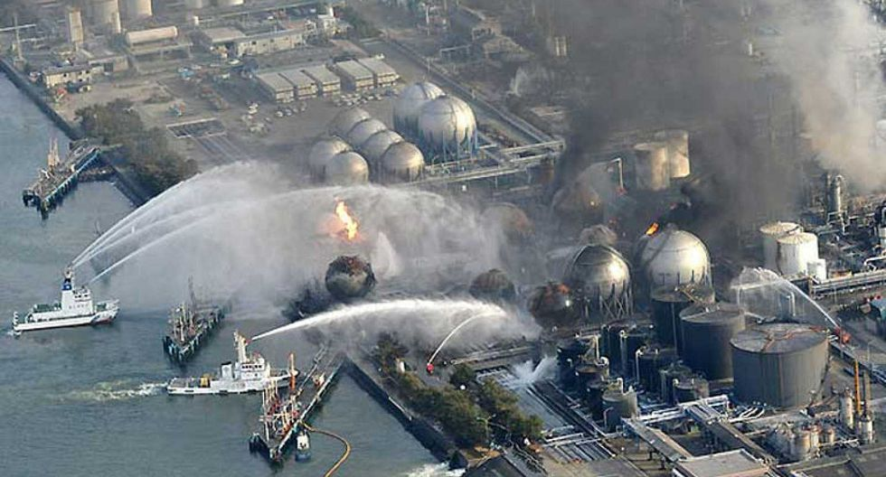 Accidente Nuclear de Fukushima 2011 (Foto: RTVEs)